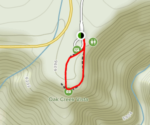 North Gateway Visitor Center Trail Map