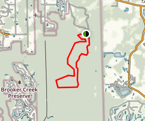 Black Water Cutoff Trail Map