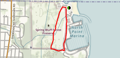 Spring Bluff Nature Preserve LCFP Map