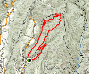 The Medicine Buddha Loop Trail Map