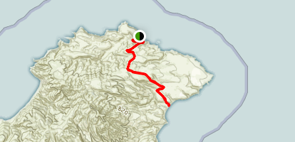 Smugglers Cove Trail Map