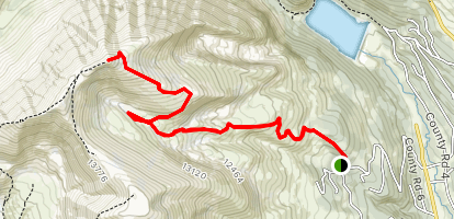 Mt. Lincoln Map