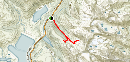 Mayflower Gulch Grand Traverse Map