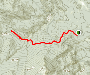 Craig Creek Trail Map