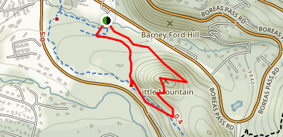 Barney Ford Trail  Map