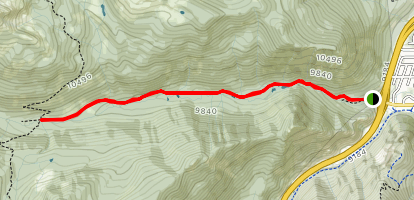 North Ten Mile Creek Trail Map