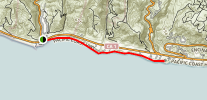 Leo Carrillo Beach Trail Map