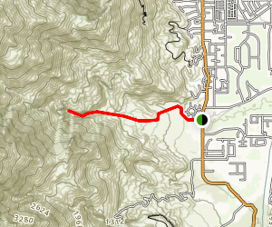 Cahuilla Canyon Trail Map