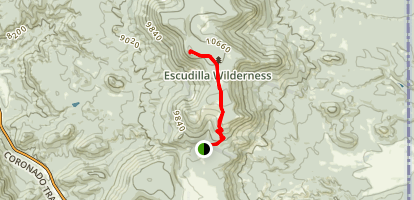 Escudilla National Recreation Trail Map