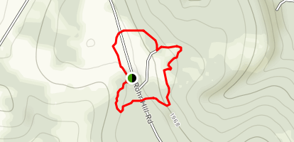 Rhor Hill Loop Map