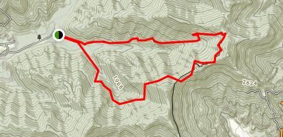 Spicewood Branch Trail Map