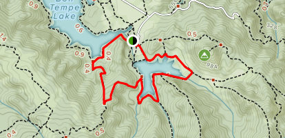Two Lakes Trail Map