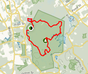 Wompatuck State Park Trails Map