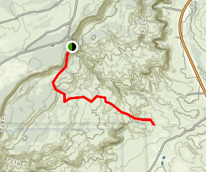 Box Canyon and Mesa Montosa Trail Map