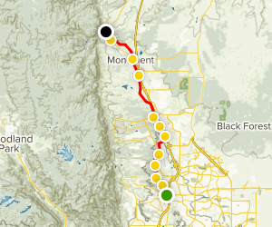 Santa Fe Regional Trail Map