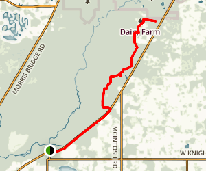 Old Fort King Trail Map