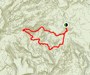 Cave Creek Trail And Skunk Creek Trail  Map