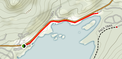 Lake Alpine Trail Map