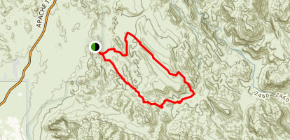 Black Mesa Loop Trail Map