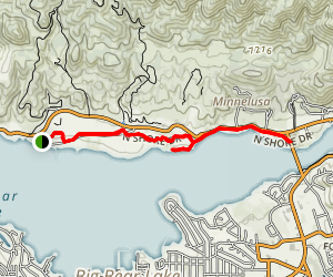 Alpine Pedal Path Trail Map
