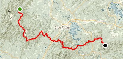 Benton MacKaye Trail Map