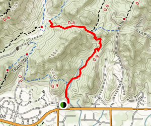 Ruth Hamilton Trail Map