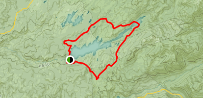 Spicer Reservoir Trail Map