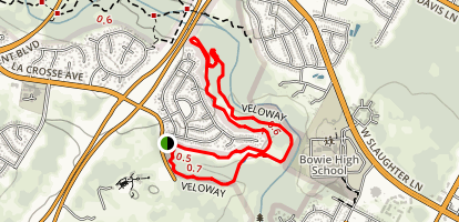 Veloway Park trail Map