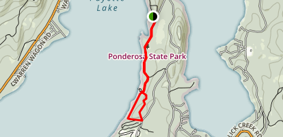 Ponderosa Park Loop Trail Map