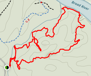 Spider Woman II Trail Map