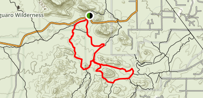 Coyote Pass Loop Trail Map