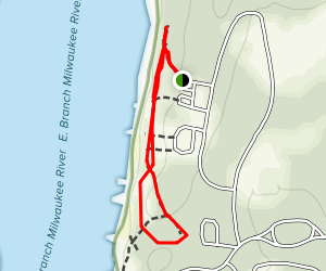 Long Lake Recreation Area Campground Trail Map