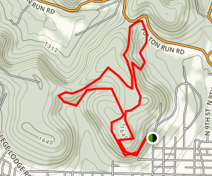 Whites Woods Trails Map