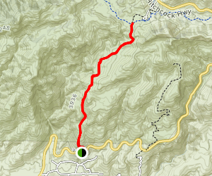 Soldier Trail Map