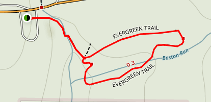 Evergreen Trail Map