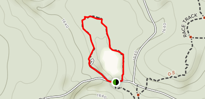 Lincoln Pond Trail Map