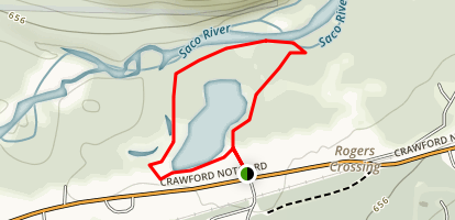 Thorne Pond Trail Map
