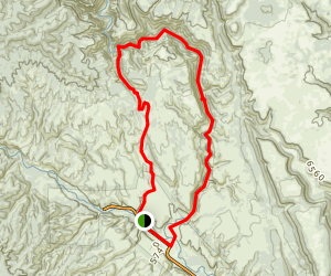 Little Bear Canyon Middle Fork Gila Loop Trail Map