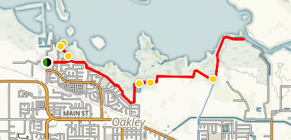Big Break Trail Map