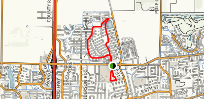 Davis-Covell Greenbelt Trail Map