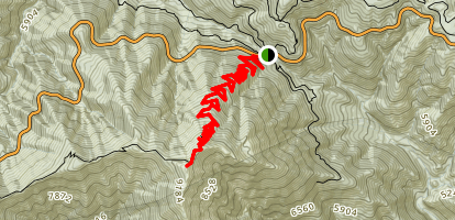 Mount Baden Powell Trail Map
