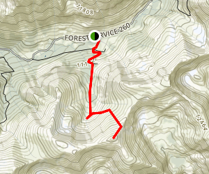 Revenue Mountain Trail Map