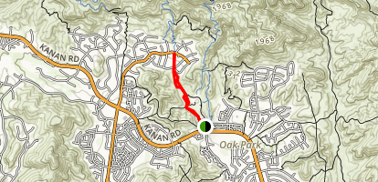 Oak Canyon Trail Map