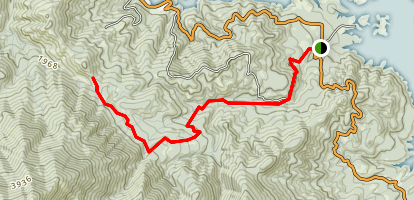 Boulder Creek Trail Map