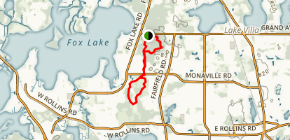 Grant Woods Trail Map