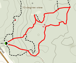 Nepaug State Forest Trail Map
