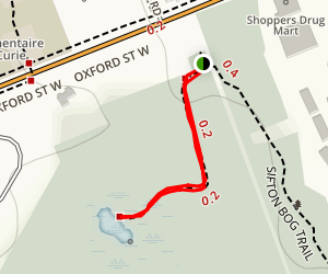 Sifton Bog Dock Trail Map