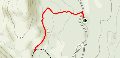 Woods Lake Campground Trail Map