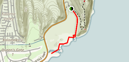 Kaiwi Shoreline Trail Map