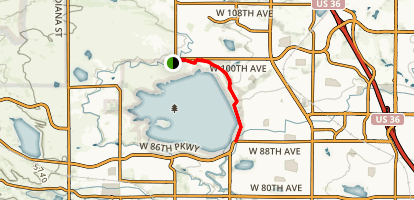 Standley Lake North Trail Map